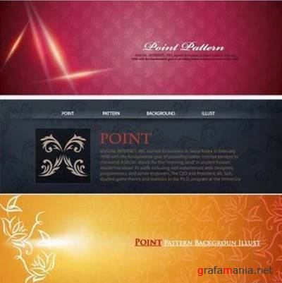 Cool Web Design Background Material