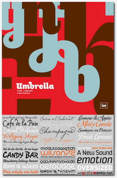 Umbrella Type Selects 1 Library