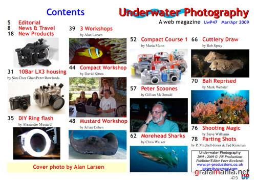 Underwater Photography #47 (Март - Апрель 2009)
