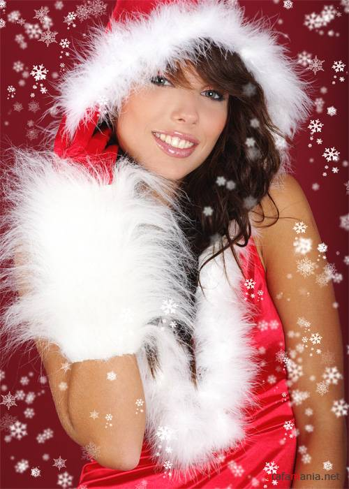 Christmas Girls - HQ клипарт Shutterstock