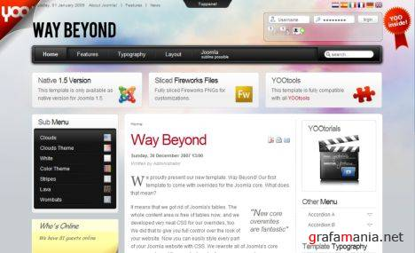 Yootheme - Way Beyond V1.5.5 Full Pack