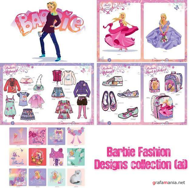 Barbie Fashion Designs collection (ai)