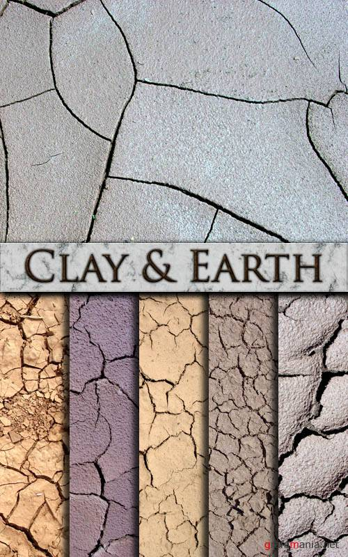 Текстуры - Clay & Earth Textures