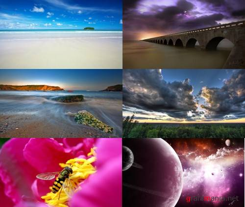 Nature abstract wallpapers