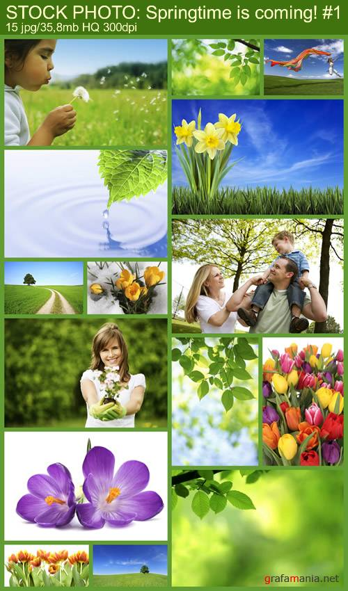 STOCK PHOTO: Springtime is coming! #1