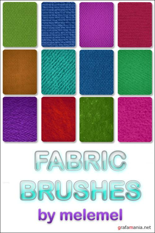 Кисти для Photoshop - Fabric Brushes