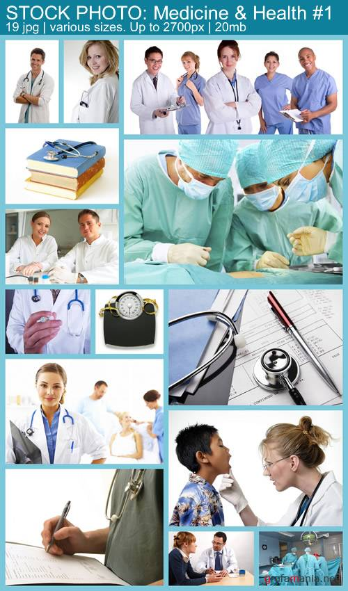 STOCK PHOTO: Medicine & Health #1