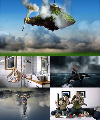 14 Art Photoworks By Geironimo