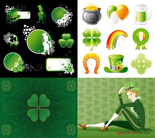 Vector Collection for St Patrick Day