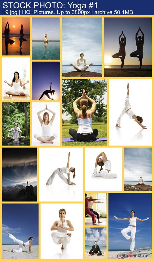 STOCK PHOTO: Health-Fitness-Yoga #1