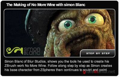 The making of no more wine with Simon Blanc