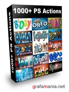 1000+ PhotoShop Actions