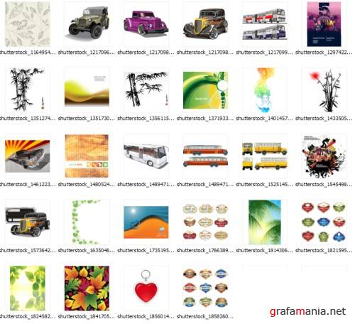 2009 shutterstock vectors mix35