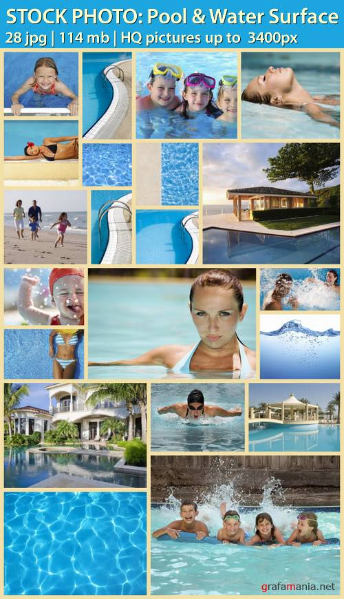 STOCK PHOTO: Pool & Water Surface-��������