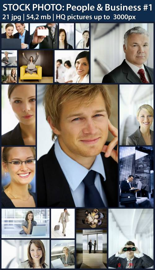 STOCK PHOTO: People & Business #1