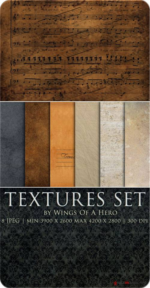 Текстуры - Textures Set by Wings Of A Hero