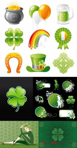 St. Patrick's Day Vectors