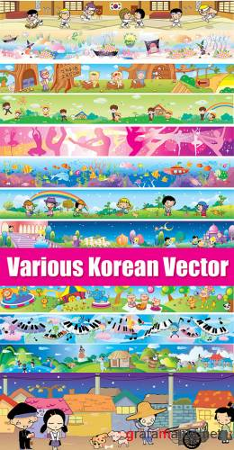 Various Korean Vector