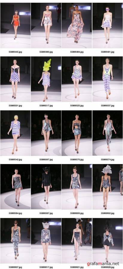 Fashion Plus Hussein Chalayan 2009 High Res
