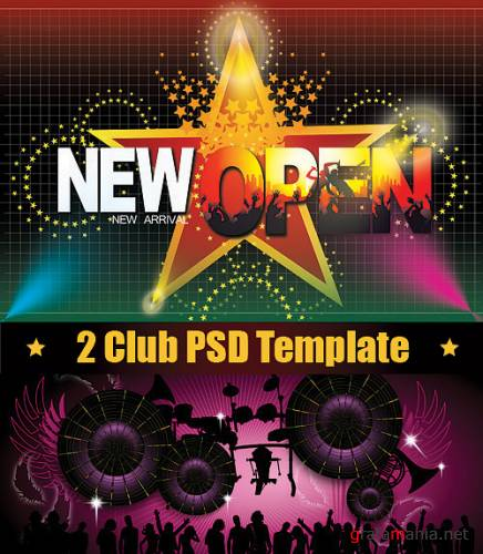 2 Club PSD Template