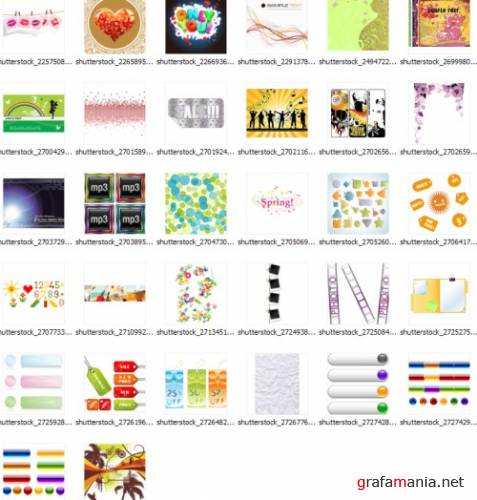 2009 shutterstock vectors mix33