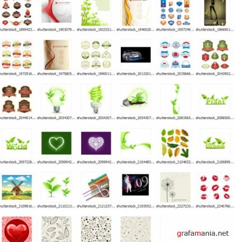 2009 shutterstock vectors mix34
