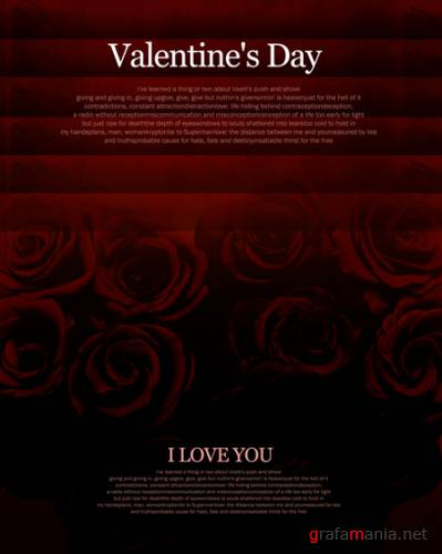 Imagetoday серия Art poster - Valentine's day