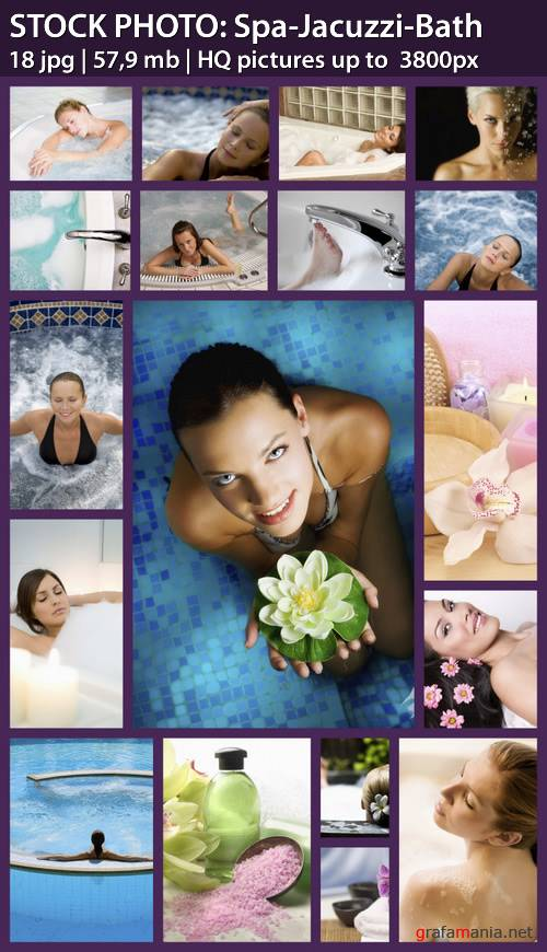 STOCK PHOTO: Spa-Jacuzzi-Bath
