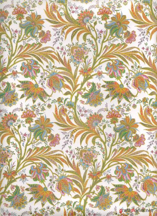 Текстуры - Floral Fabric Texture #2
