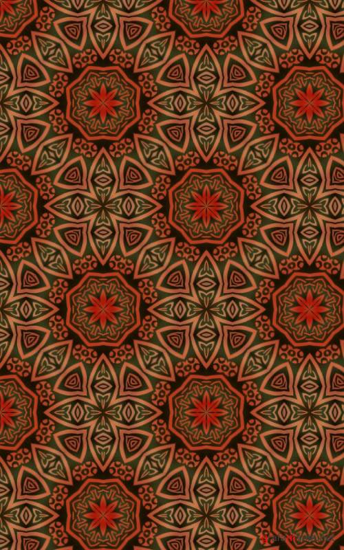 Заливки для Photoshop - Oriental Pattern