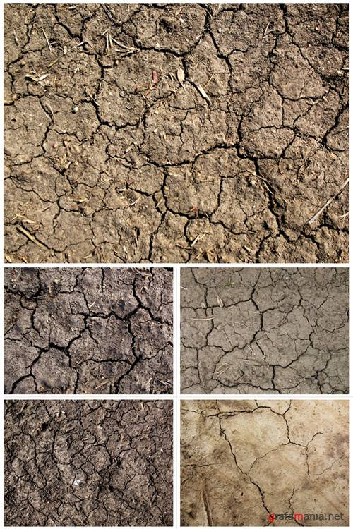 Cracked Dirt Textures