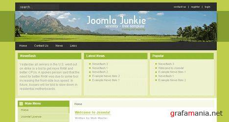 20 Best Free Joomla Templates Featured