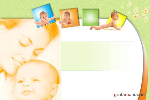 "PSD Source ""Baby Album"""