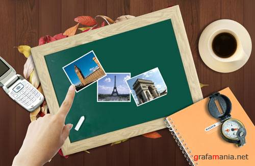 PSD templates - Travel 2
