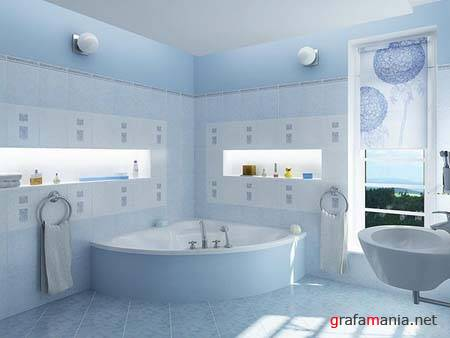 3D models bathroom stuff, toilets, showers (ArchModels) vol.6