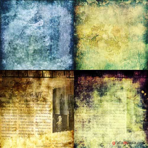 Grunge Textures by ImaginaryRosse