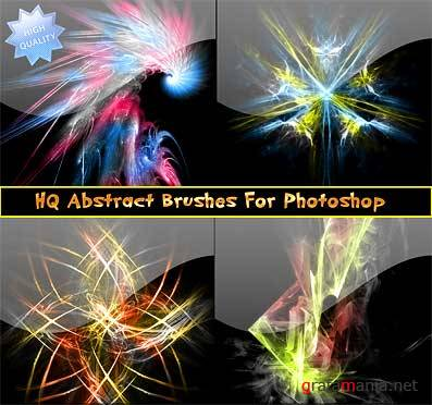 HQ Abstract Brushes Set