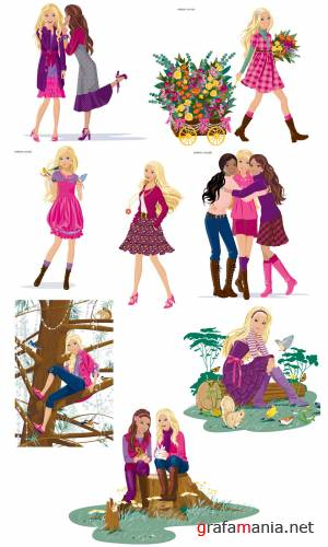 Commercial Barbie & Friends
