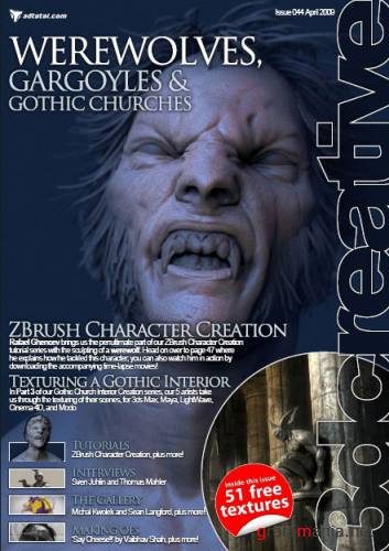 3DCreative Issue 44 april 2009 Hi-Res