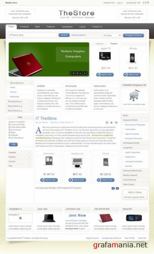 IT TheStore Free template for Joomla