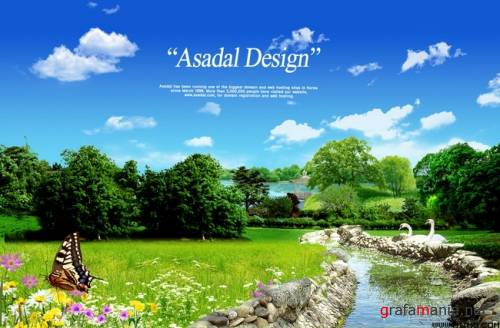 "PSD Source ""Nature Asadal Design"""