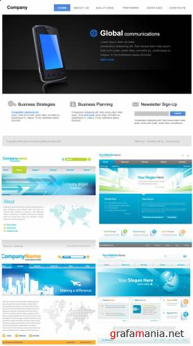 Amazing SS - Web Templates Vectors