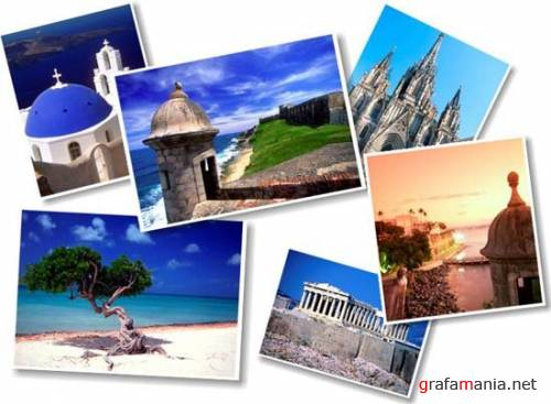 Photostoсks от Medio Images. WT 01 (Discover The Caribbean) и WT 02 (Discover The Mediterranean)