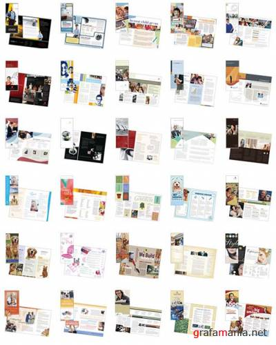 STOCKLAYOUTS TRIFOLD BROCHURES (ALL IN ONE)