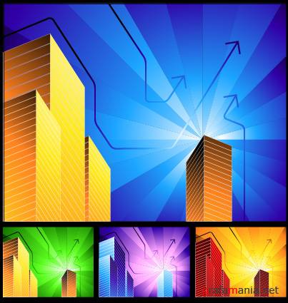 Hi-tech vector backgrounds