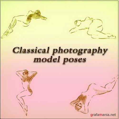 Classical photography model poses