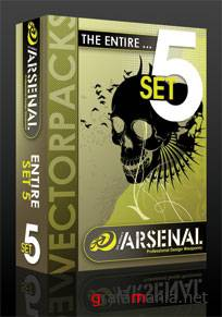 Go Media's Arsenal. Vector Packs - 1-7