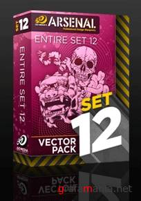 Go Media's Arsenal. Vector Packs - 08-14