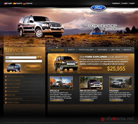 30 Great Web Layouts Design From DeviantART