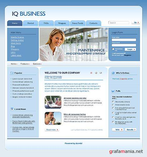 TM 22767 Into Joomla Template